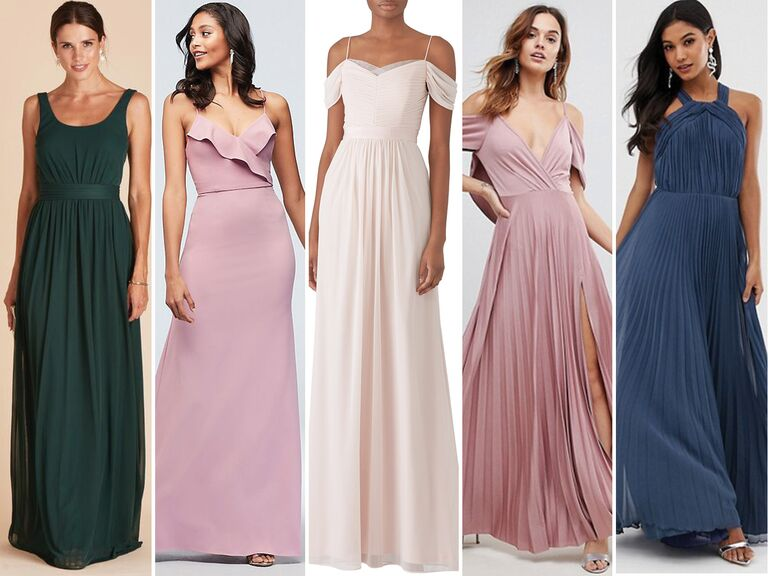 55 Affordable Bridesmaid Dresses That Don'