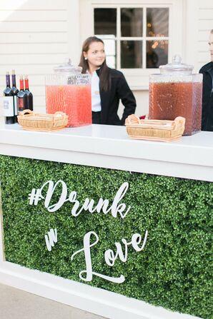 Custom Drunk in Love Bar