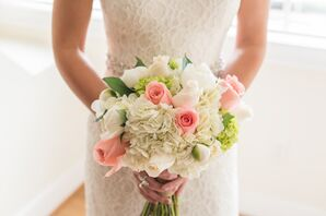 Spring-Inspired Rose and Hydrangea Bouquet