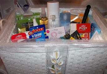 Luxury Restroom Baskets To Pamper Your Guests
