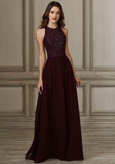 Adrianna Papell Platinum 40146 Bateau Bridesmaid Dress