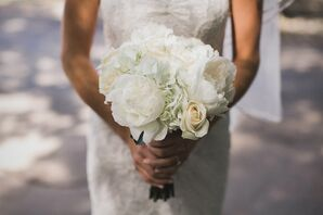 Bouquet of Peonies, Roses and Hydrangeas