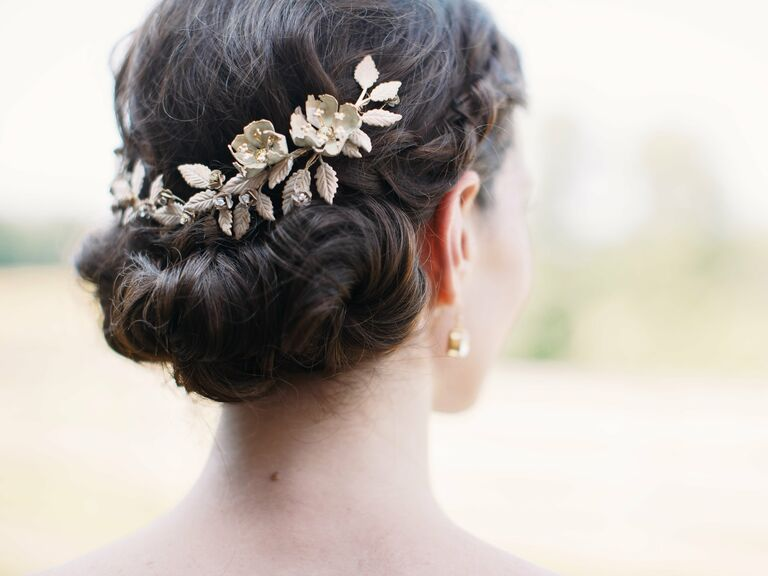 Real Wedding Hair Accessories