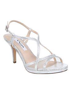 Nina Bridal Blossom_Silver Silver Shoe