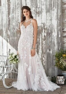 Lillian West 66050 A-Line Wedding Dress