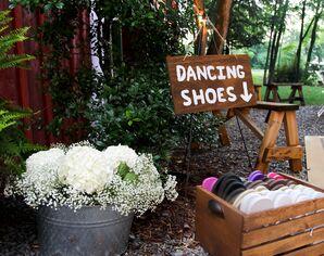 Flip Flop Dancing Shoe Favors