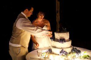 Amanda and Tyler's Cake Cutting