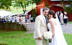 Amanda and Tyler's Outdoor Barn Wedding