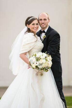 Rachel and James's Glamorous Winter Wedding