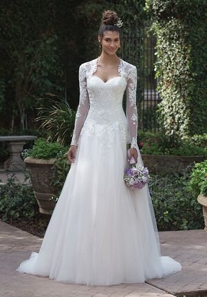 Sincerity Bridal 4019 Ball Gown Wedding Dress
