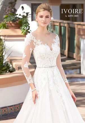 IVOIRE by KITTY CHEN ELISABETTA V1705 Ball Gown Wedding Dress