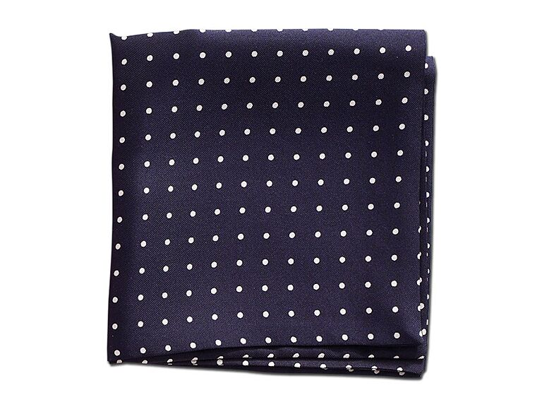 Beau Ties Polka Dot Pocket Square Engagement Gift Ideas