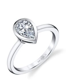 MARS Fine Jewelry Unique Pear Cut Engagement Ring