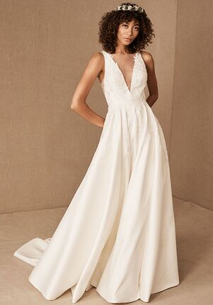 BHLDN Eden Gown A-Line Wedding Dress
