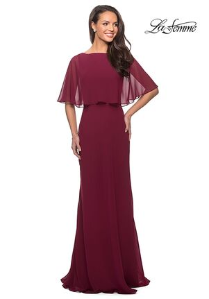 La Femme Evening 25204 Red Mother Of The Bride Dress