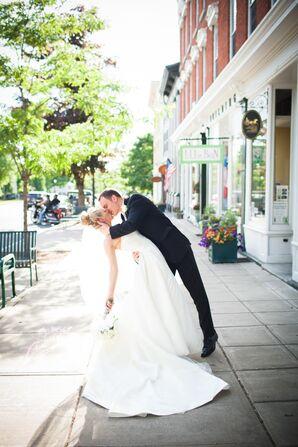 Allison and Reid Cazenovia Wedding