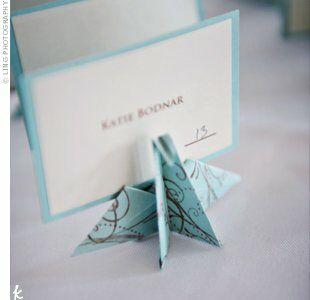 Origami Wedding Decor Ideas | 結婚式 手作り, 結婚式 招待状 和 ... | 300x310