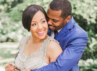 Ten years after they first tied the knot, Michelle (37 and a captain in the US Air Force) and husband Jerome Rogers (34 and a major in the US Air Forc