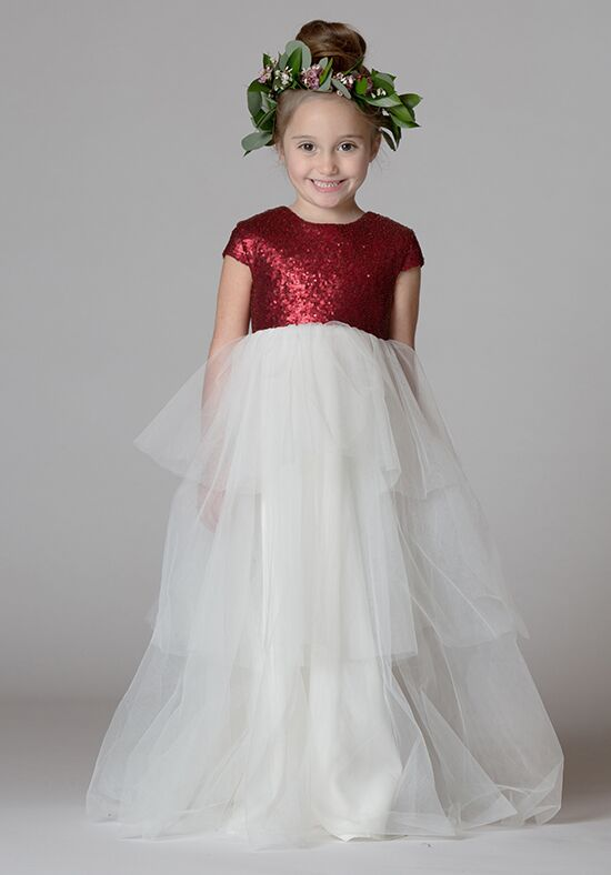 7d7a8fd690c Bari Jay Flower Girls F7717 Flower Girl Dress - The Knot