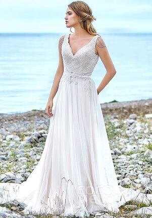 CocoMelody Wedding Dresses LD5774 A-Line Wedding Dress