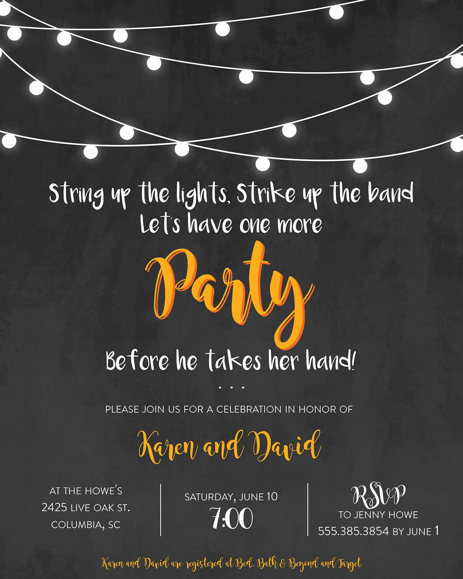 Bridal Shower Invitation Wording Ideas And Etiquette
