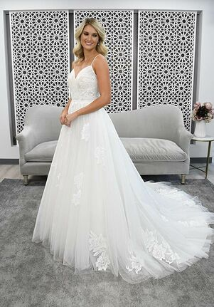 Stella York 7304 A-Line Wedding Dress