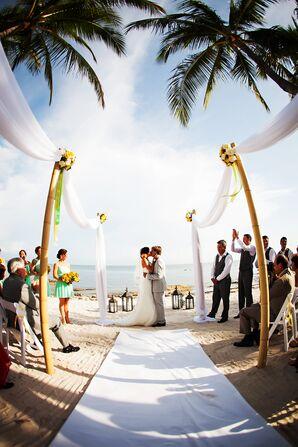 Key West, Florida Intimate Beachfront Ceremony