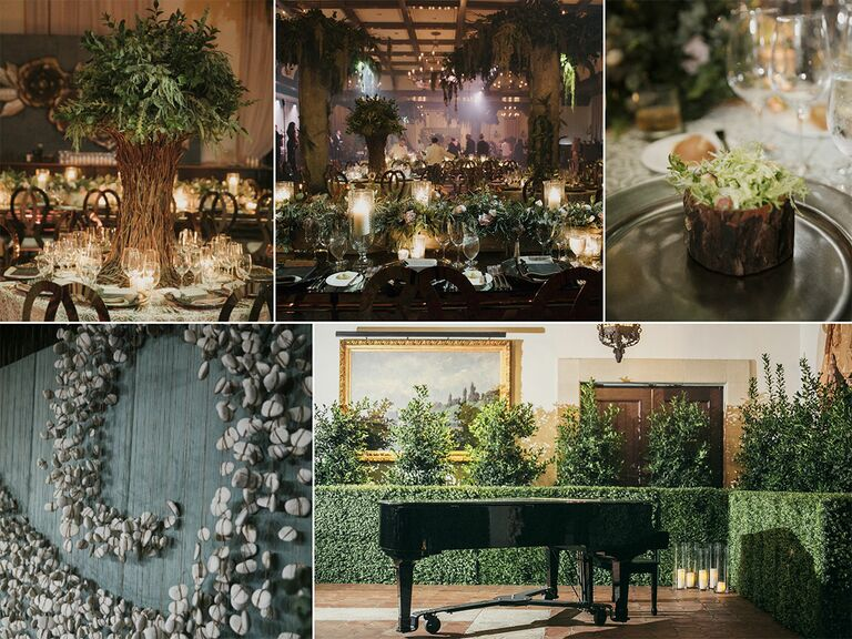 Garden and greenery trends for 2017 weddings