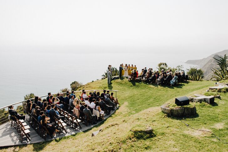 Waterfront Ceremony at Point 16 in Big Sur, California