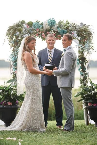 Kasey King, Wedding Officiant