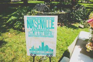 Nashville Welcome Sign