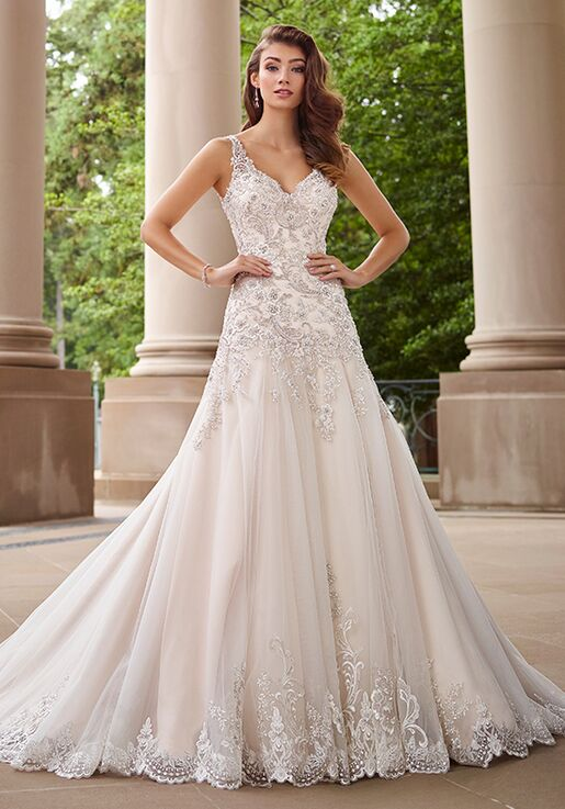 Martin Thornburg A Mon Cheri Collection 118260 Minuet Line Wedding Dress