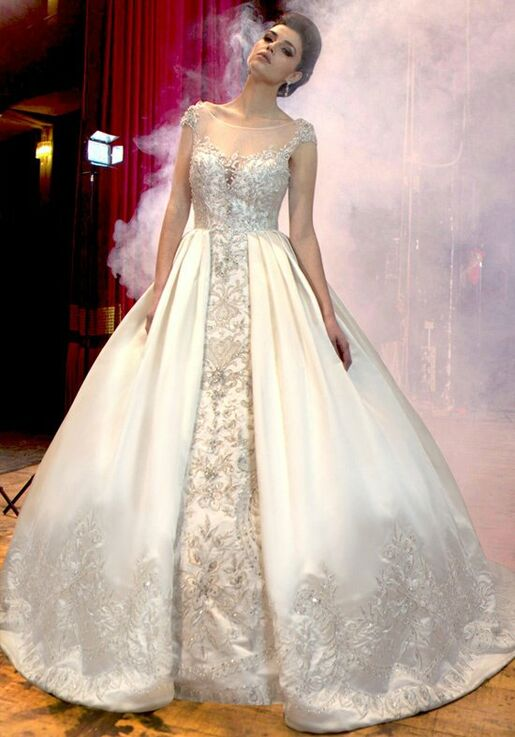 Stephen Yearick KSY43 Ball Gown Wedding Dress