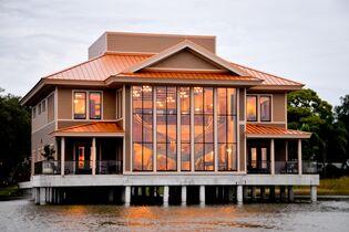 Tavares Pavilion on the Lake