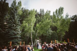 Outdoor Woodland Ceremony