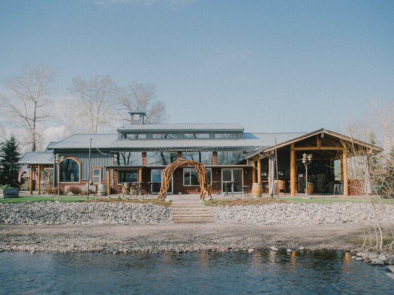 Montana wedding venue in Bozeman, Montana.