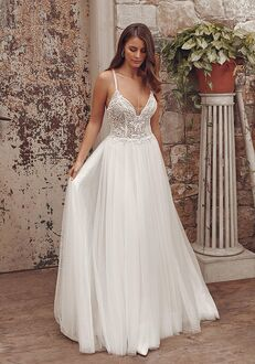 Justin Alexander Alessandra A-Line Wedding Dress