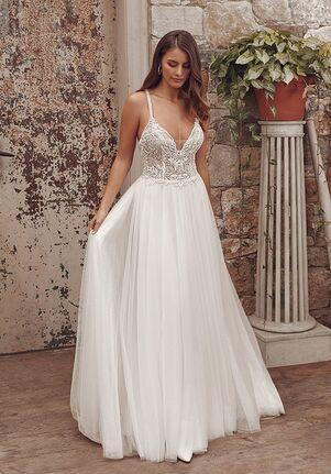 Justin Alexander Alessandra A-Line Wedding Dress