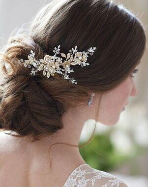Dareth Colburn Rosalina Bridal Hair Clip (TC-2411) Gold Pins, Combs + Clip