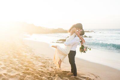 Simple Maui Wedding
