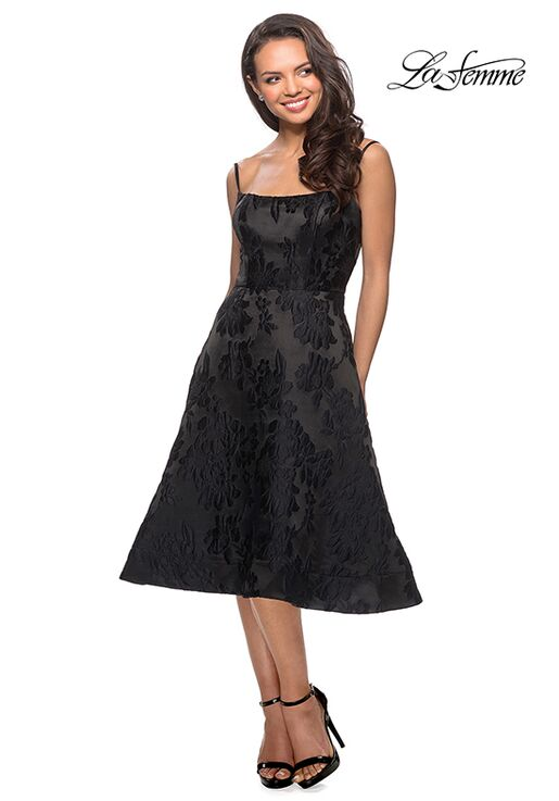 La Femme Evening 27748 Black Mother Of The Bride Dress