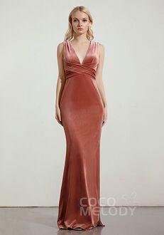 CocoMelody Bridesmaid Dresses RB0346 V-Neck Bridesmaid Dress