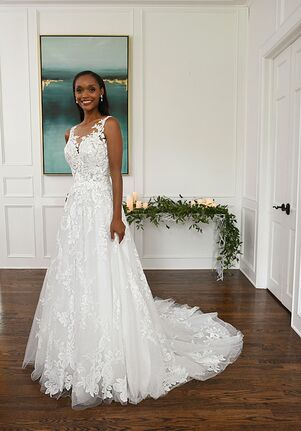 Essense of Australia D3280 A-Line Wedding Dress