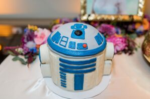 Star Wars's R2-D2 Groom's Cake