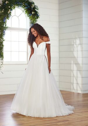 Essense of Australia D2882 A-Line Wedding Dress