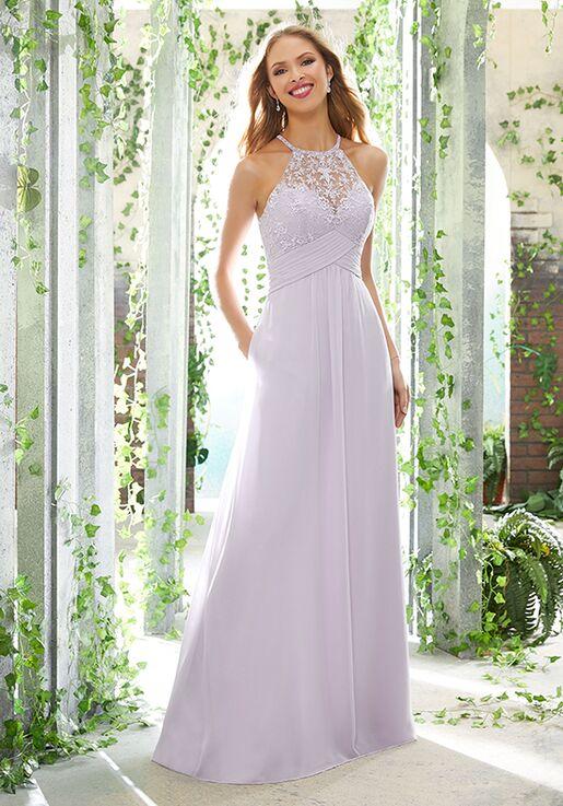 Morilee by Madeline Gardner Bridesmaids 21604 Halter Bridesmaid Dress