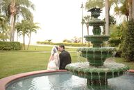 Between the lush florals, custom ceremony and Florida-inspired accent colors, Alina Llerandi (26 and in client relations) and Nick Mauritz's (30 and a