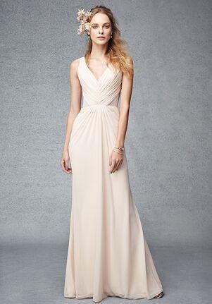 Monique Lhuillier Bridesmaids 450287 V-Neck Bridesmaid Dress