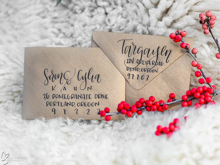 Game of Thrones–inspired wedding invitations