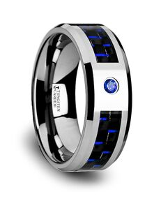 Mens Tungsten Wedding Bands W2960-TCBD Tungsten Wedding Ring